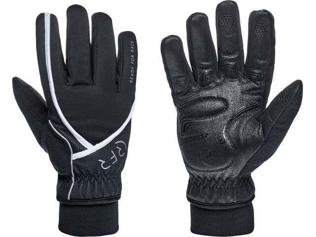 RFR Comfort All Season Langfinger Handschuhe black'n'white